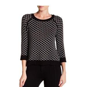 NWT Philosophy 3/4 length sleeve knit sweater